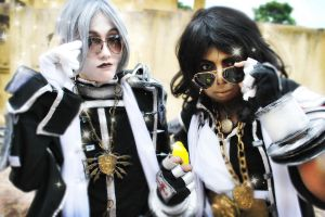 Trinity Blood:Our Shades bring le Nuns to the Yard by MarkavXXVIII