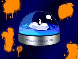 Penguin Globe by cow41087