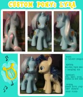Custom Pony: Lyra by autumnalone