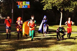 Teen Titans.. GO by mrdustinn