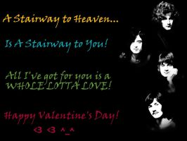 Led Zeppelin Valentine! by eclips3000