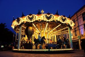 Carrousel fixe by LudwigDeLarge