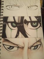 Bleach Eyes WIP 2 by JustinEugene