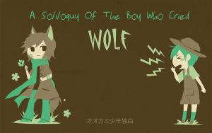 sasakure.UK: A Soliloquy of The Boy who Cried Wolf by niaro