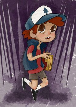 Dipper by PanduhInk