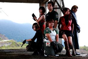 Resident Evil Group Shoot 8 by aiko-mizuno