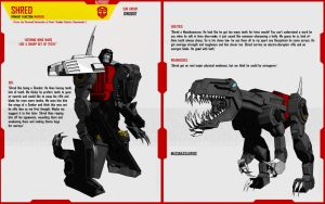 DINOBOT SHRED by F-for-feasant-design