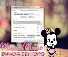 Cursor Minnie Mouse by Yoa Editions by yoaeditions