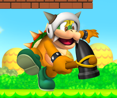 my koopa 'better 3D' by invislerblack