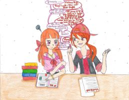 (Blossick-TC): 2: Study Together by kuku88