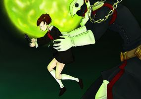 Persona 3 Thanatos by disney20038