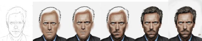 Dr. House WIP by mapoga