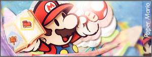 Paper Mario: Sticker Star signature by Night-TAG