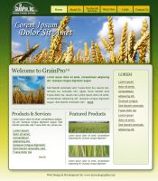 Grainpro Web Design Proposal 1 by Noah0207
