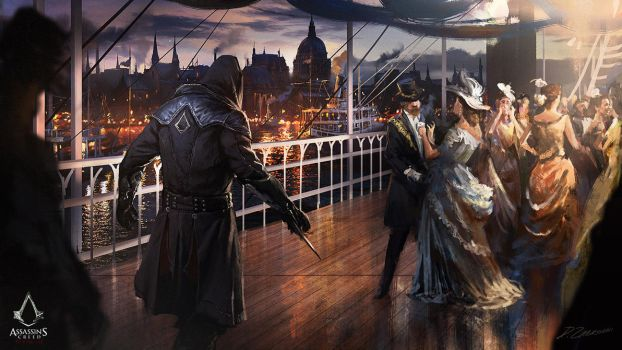 Assassin's Creed: Syndicate Pleasure by daRoz