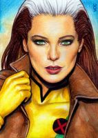 Rogue Sketch Card 17 by veripwolf