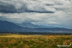View of Mt.Timpanogos by mjohanson