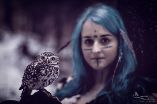 Mother of Owls.... by LucreciaMortishia