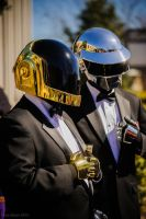 Daft Punk @ ConNooga 2014 by torsoboyprops