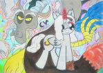 MLP - DdNe - Let's Welcome Chaos (Request) by Thuledrawer09