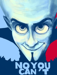 TegakiE- MEGAMIND by Sukautto