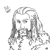 Fili sketch by roseannepage