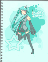 Miku Hatsune for sasorilove by staelus