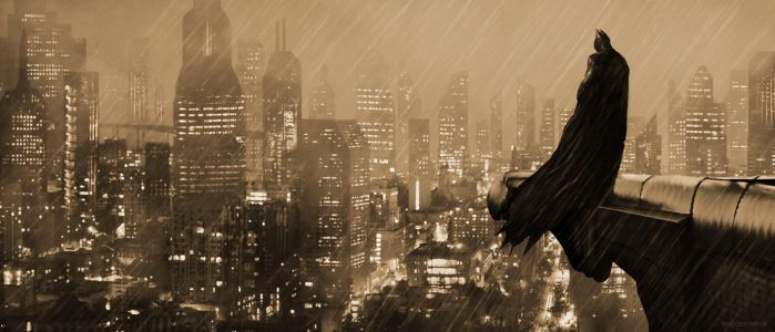 Batman - The Silent Guardian of Gotham by cerkvenik