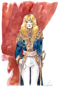 The rose of Versailles by LuanaVecchio