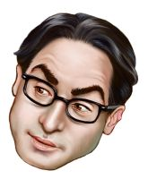 Leonard Hofstadter by enginemonkey