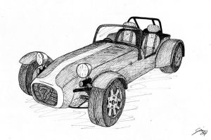 Caterham Seven by gjones1
