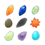 Evolutionary Stones by Lexi247