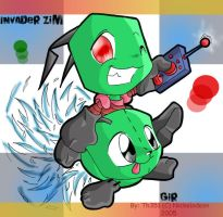 Zim and Gir by th351