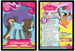 Iridescence Trading Card by Buizel149