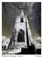 St Michaels Hathersage IR rld 01 dasm by richardldixon