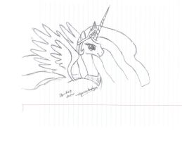 Celestia Smile - Drawing Practice by sqarishoctagon