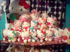 My Hello Kitty Dolls by Bjnix248