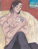 A Young Father by ANimeMOrganMAnga