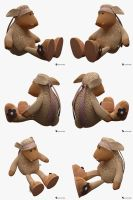 Toy Sheep Nici Rigged (Cartoon Character) by Semsa
