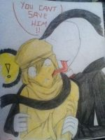 You can't save Pewdie!! by judy2468