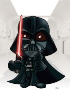 Darth Vader Tantive IV in color by JTampa