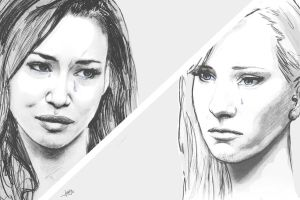 BRITTANA BREAKING UP? by karlyilustraciones