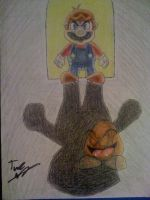 Small Mario from 3D Land by Twinkie5000