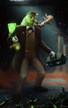 Character Forge #42 - Professor Lovett [FINALS] by MRBrown22