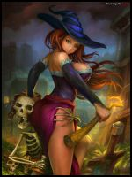 Dragons Crown: Sorceress by Lagutin