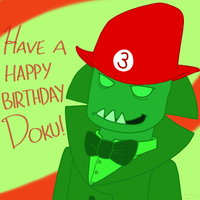 Happy Birthday, Doku! by Noobynewt