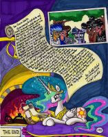 Twilight Sparkle and the Big City Page 140 THE END by newyorkx3
