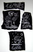 DIY patch series by ismellsickness