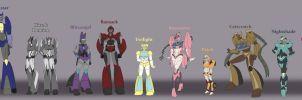 Femmes Height Chart by Ty-Chou