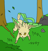 Leafeon by StanSharp